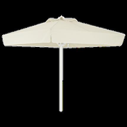 Зонт профессиональный Papatya Ø 2 м круглый бежевый, фото 2