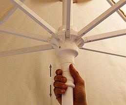 Зонт профессиональный круглый The Umbrella House 2,5 м KIWI CLIPS, фото 3