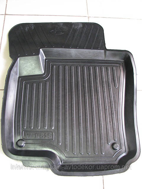 Коврики автомобильные для Chevrolet (Шевроле), резиновые с бортами