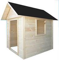 Детский игровой домик деревянный 1.4 х 1.2
