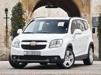 Защита переднего бампера Chevrolet Orlando (2010+)