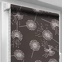 """Занавески на кухонное окно """"DecoSharm"""" Цветы 5428/3"""