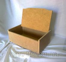 Шкатулка без зеркала 27,5х17х10,2 см мдф заготовка для декора №007