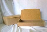 Шкатулка без зеркала 27,5х17х10,2 см мдф заготовка для декора №007, фото 3