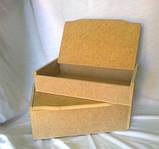 Шкатулка без зеркала 27,5х17х10,2 см мдф заготовка для декора №007, фото 4