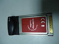 Сетевая карта LAN Ethernet PCMCIA для ноутбука, фото 1