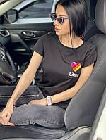 Женская футболка с вышивкой, фото 1