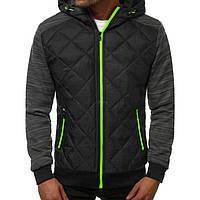 Куртка осенняя мужская J.Style TY-37 черная M