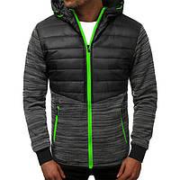 Куртка осенняя мужская J.Style TY-36 черная M