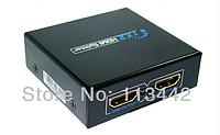 Конвертер  HDMI Splitter 1*2,Support 3D  (HDCP)   (HDMI1.4/3D) ,5V/1A Power supply V1.4 4K*2K