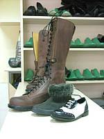 Индивидуальный пошив ботинок для байкеров