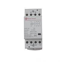 ElectroHouse Контактор модульный 4P 25A 220-230V IP20 2НО+2НЗ