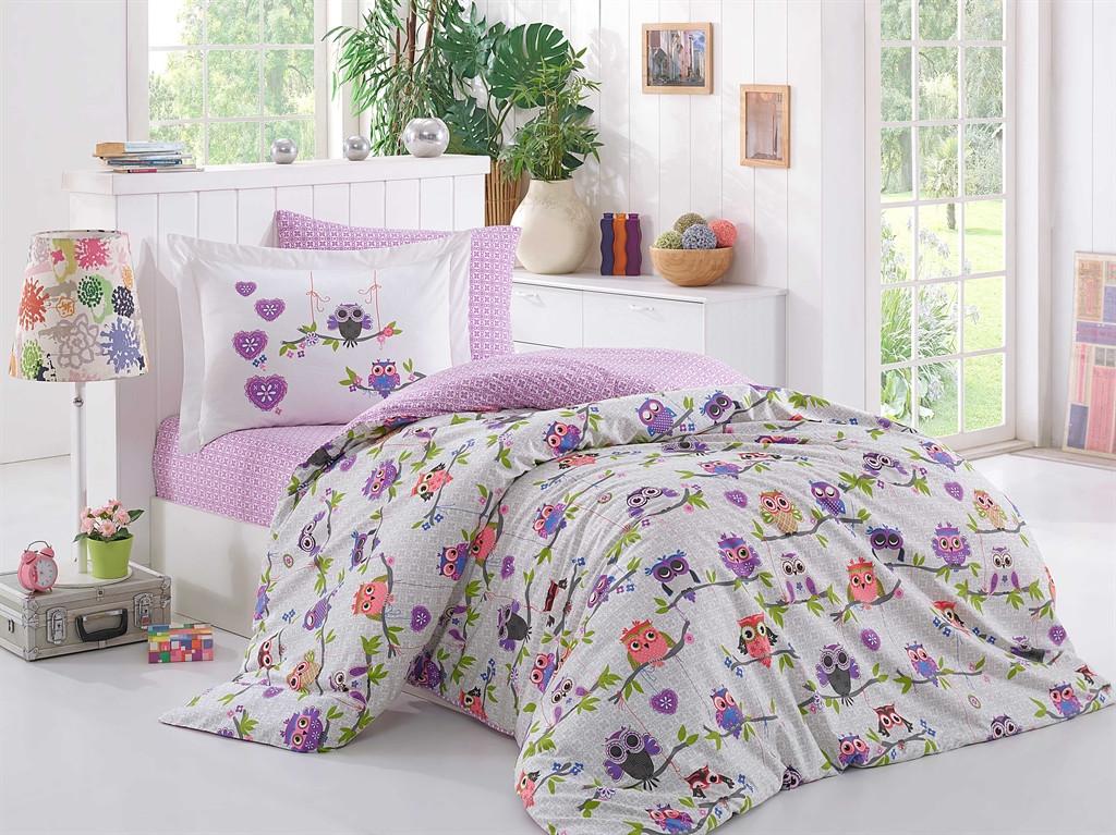 Комплект постельного белья полуторный Poplin Candy 160х220 (8698499123113)