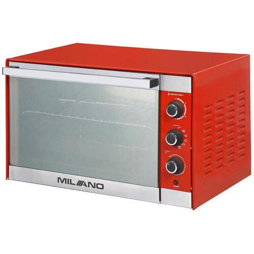 Духовка електрична MILANO MO-48 Red , обсяг 48 літрів
