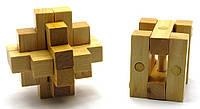 Сувенир - головоломка деревянная