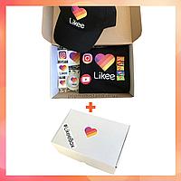 Подарочный набор Super Likeе Box Набор Лайк Black в подарочной коробке Лайк