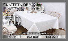 Скатертина 7 - D 140-220 см