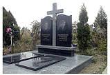 Памятники гранитные, памятники из крошки, фото 3