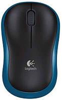 Мышь беспроводная Logitech M185 Wireless Blue