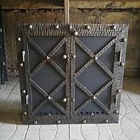 Дверка для коптильні «Старе місто» утеплена,герметична, фото 1