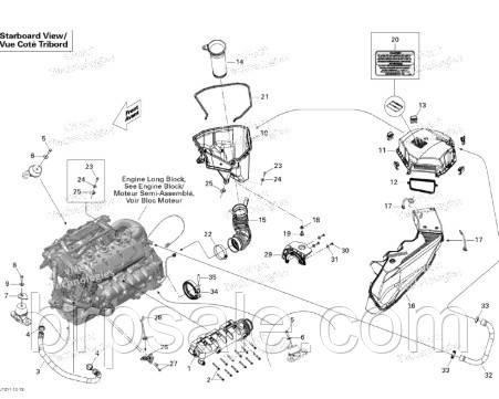 Втулка выхлопных компонентов Sea-Doo BRP Grommet