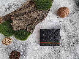 Портмоне, кошелек из натуральной кожи на заклепке Gucci