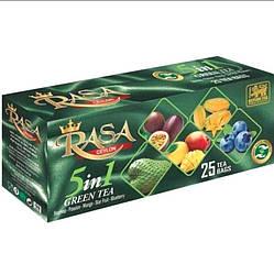 Чай зеленый с саусеп, манго, маракуйя, карамбола, голубика Mohan 25 шт