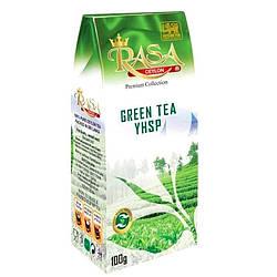 Зеленый чай крупнолистовой Rasa 100 гр
