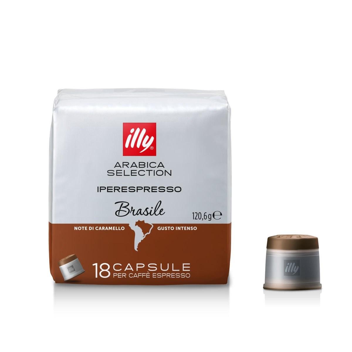 Кава в капсулах illy IperEspresso Brasile 18 шт., Італія (Іллі айпер)