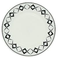 """Тарелка закусочная """"Графика"""", стеклокерамика (20 см.), фото 1"""