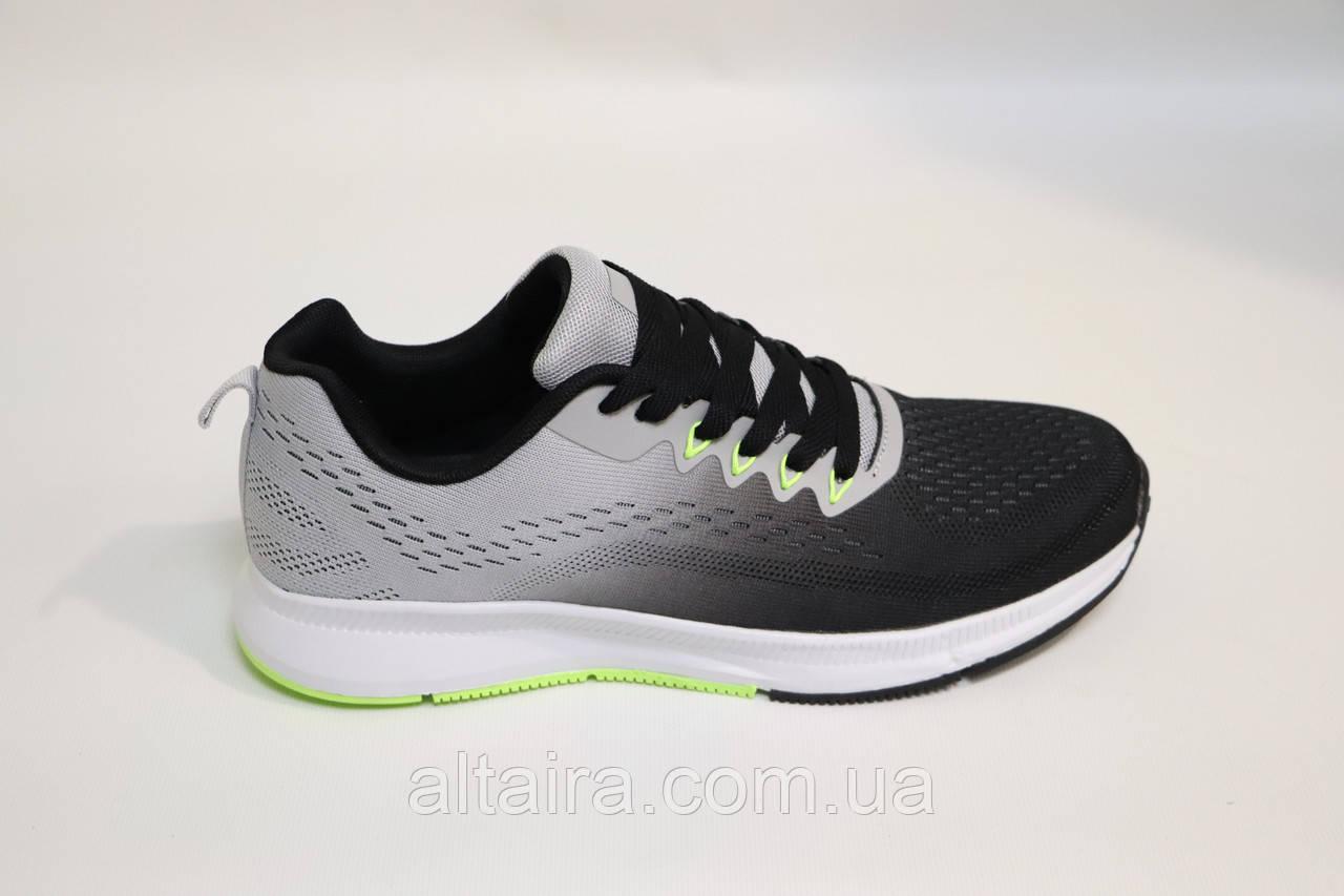 Кросівки сірі чоловічі, сітка. 45 розмір.Чоловічі кросівки сірі, сітка.