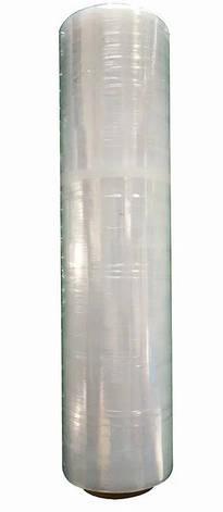 Прозрачная стретч плёнка в рулоне. Длина 240 м, ширина 500 мм, 20 мкм, фото 2