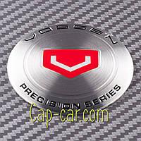Наклейки для дисків з емблемою Vossen. ( Воссен ) Ціна вказана за комплект з 4-х штук