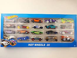 Набор машинок Hot Wheels (20 штук) Хотвилс Подарочный