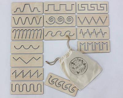 Трафарети першого листа в мішечку SMARTKIDS   Ігри на логіку   Логічні ігри   Розвиваючі іграшки