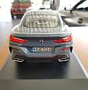 Оригінальна модель автомобіля BMW 8-Series Coupe, Barcelona Blue Metallic, 1:18 Scale (80432450995), фото 4
