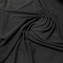 Футер двунитка темно-серый меланж (180 см), фото 3