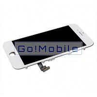 Стекло (для ремонта дисплея) iPhone 5, 5S, 5C белое copy