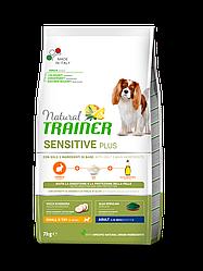 Корм Natural Trainer Dog Sensetive Mini Rabbit для собак малих порід з кроликом 7 кг