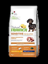 Корм Natural Trainer Dog Sensitive Small&Toy Duck для собак малих порід з качкою 7 кг