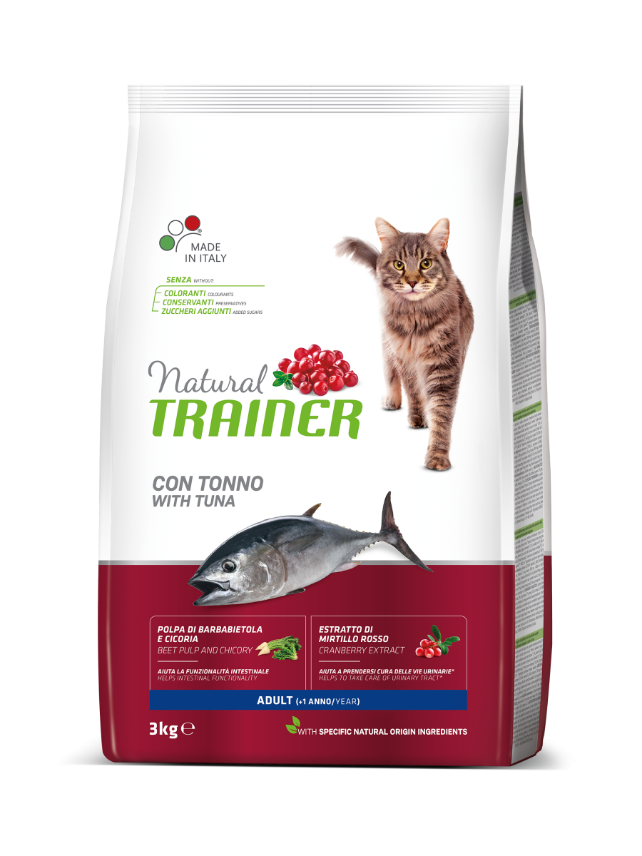 Корм Trainer Natural Super Premium Adult with Tuna для котів з тунцем 3 кг