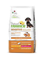 Корм Natural Trainer Dog Sensitive Puppy&Junior Mini With Salmon цуценят малих порід з лососем 0,8 кг