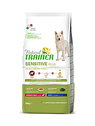 Корм Natural Trainer Dog Sensitive Medium&Max With Horse для середніх великих порід з кониною 12 кг