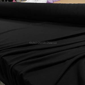 Футер двунітка чорна (180 см)