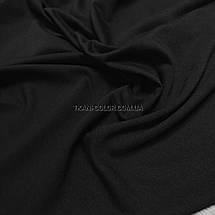 Футер двунитка черная (180 см), фото 3