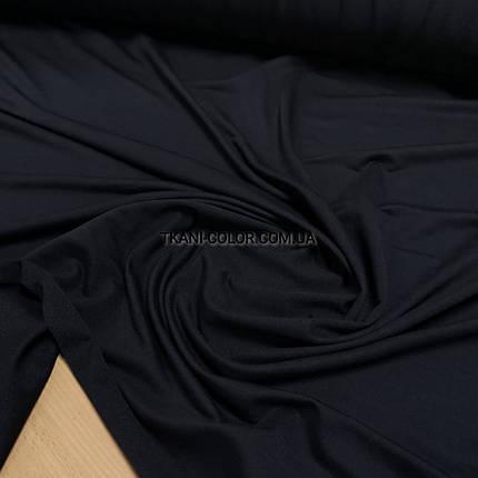 Футер двунитка темно-синий (180 см), фото 2