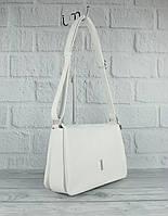 М'яка, містка сумка Gilda Tohetti 60488-26 біла, фото 1