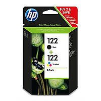 Картридж для принтера HP DJ No.122 Black/color (CH561+CH562) Combo Pack (CR340HE)