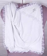 Крестильное полотенце Крещение, белое