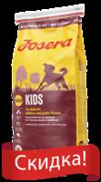 Josera Kids сухой корм  для растущих щенков средних и крупных пород 15 кг